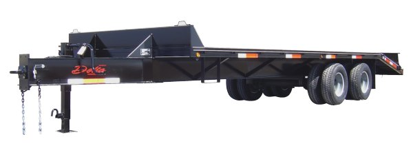 Equipment trailers from Delta — Dual Wheel Flatbeds