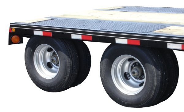 Equipment Trailers From Delta Dual Wheel Flatbeds